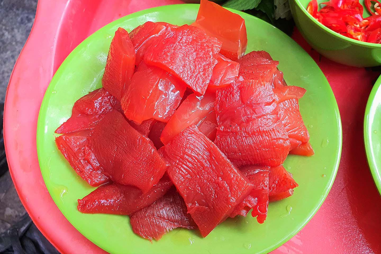 Hà Nội: Món sứa đỏ có gì ngon mà trở thành món ăn cực hot, được nhiều người yêu thích - Ảnh 6.