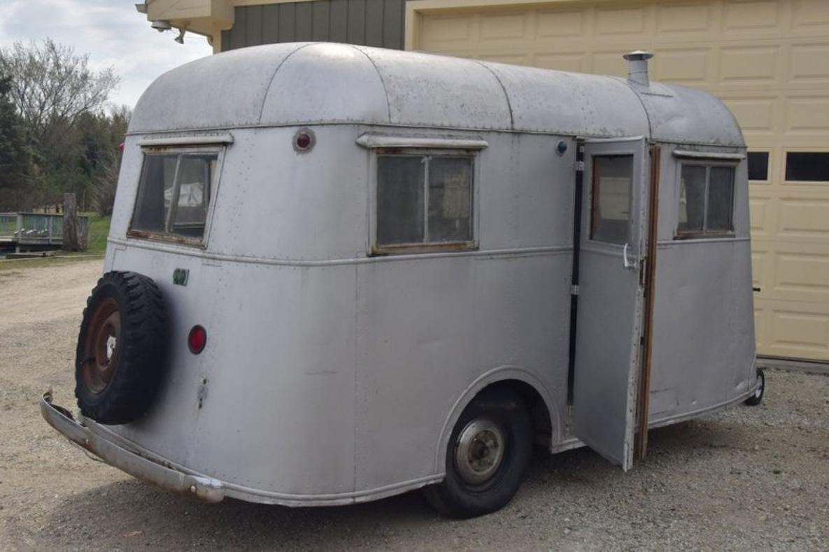 Pierce-Arrow Travelodge - Xe kéo cắm trại sang trọng hiếm có, là biểu tượng những năm 1930 - Ảnh 4.