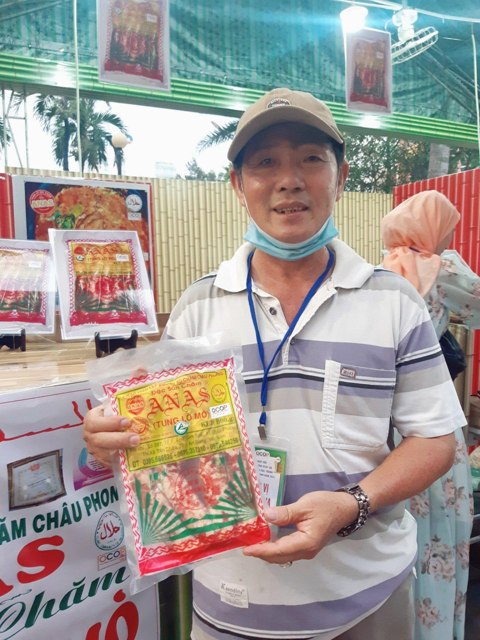 Tung lò mò-đặc sản của người Chăm vừa được chọn là 1 trong 6 sản phẩm OCOP đầu tiên của tỉnh An Giang