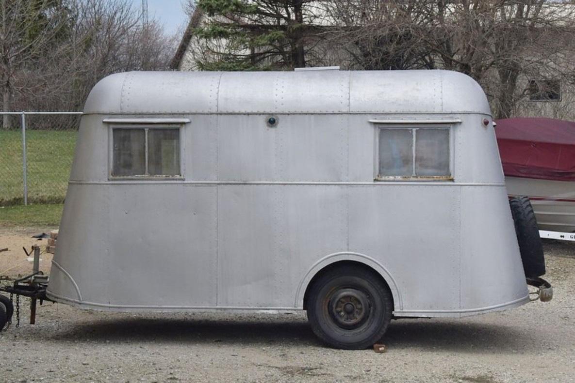 Pierce-Arrow Travelodge - Xe kéo cắm trại sang trọng hiếm có, là biểu tượng những năm 1930 - Ảnh 2.