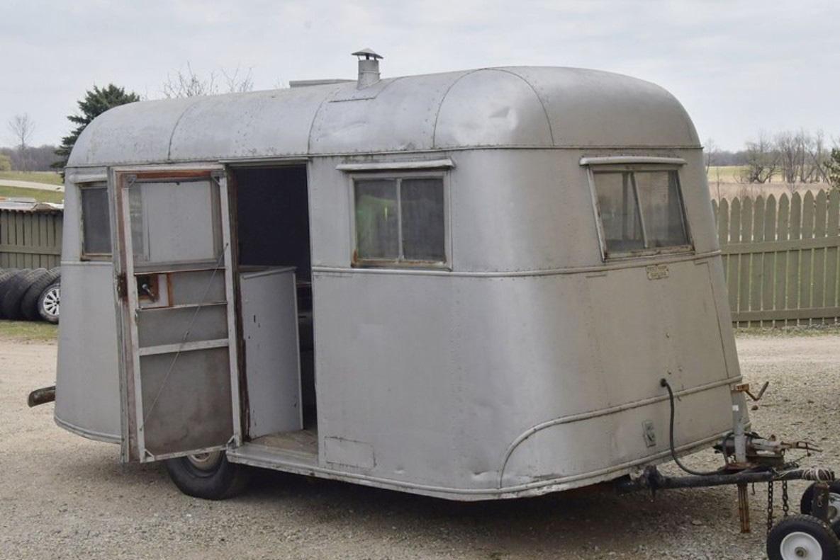 Pierce-Arrow Travelodge - Xe kéo cắm trại sang trọng hiếm có, là biểu tượng những năm 1930 - Ảnh 3.