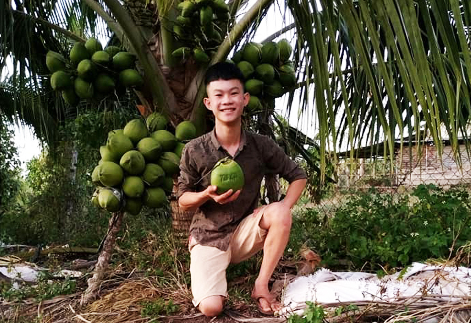 Cậu bé bị nói là điên nhưng làm gì cũng có tiền từ nông nghiệp hữu cơ - Ảnh 2.