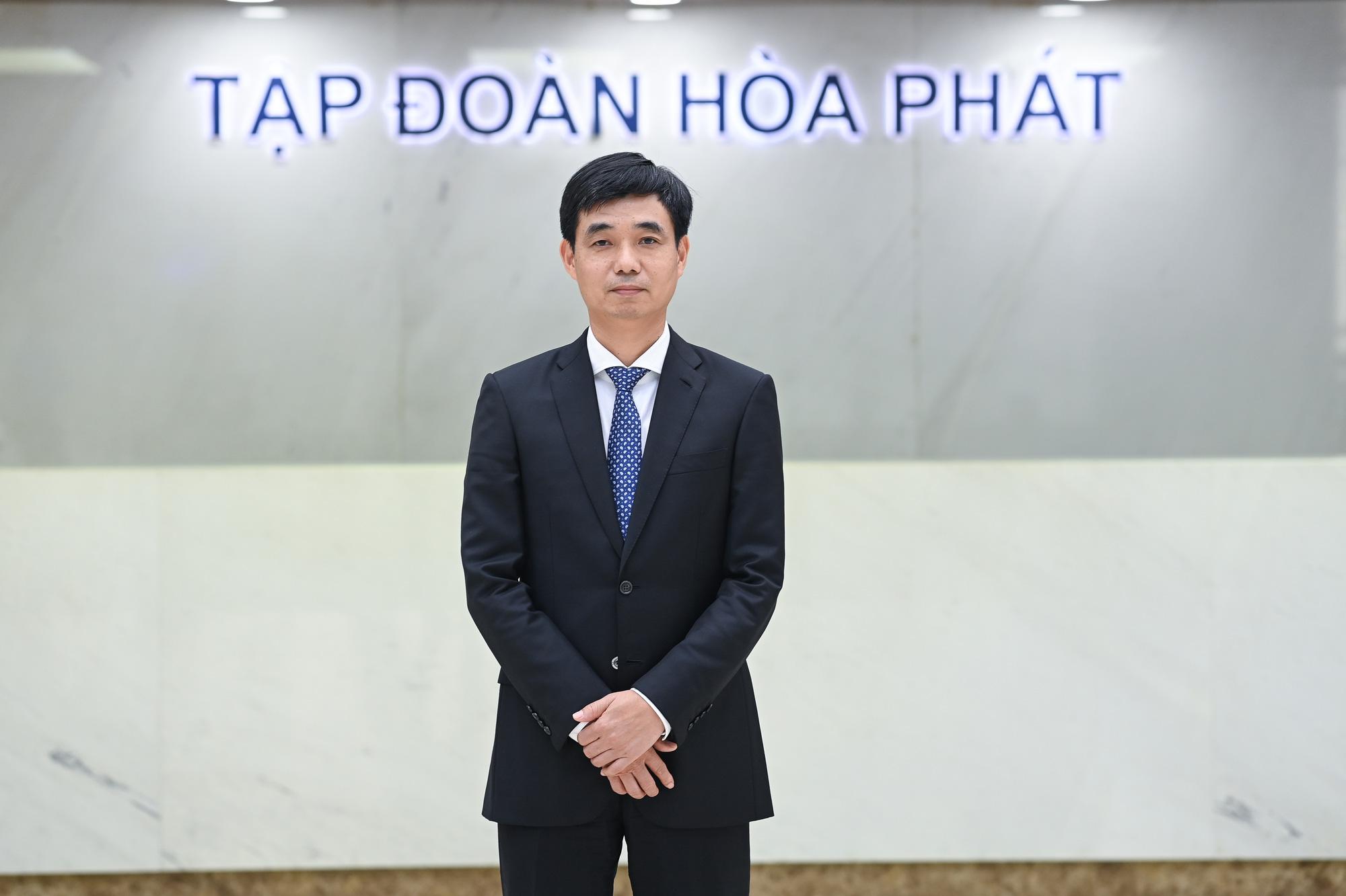 Tập đoàn Hòa Phát bổ nhiệm ông Nguyễn Việt Thắng giữ chức vụ Tổng Giám đốc - Ảnh 1.