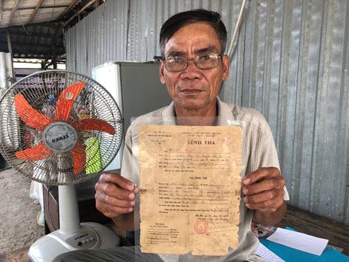 Người đàn ông 34 năm đi đòi công lý - Ảnh 1.