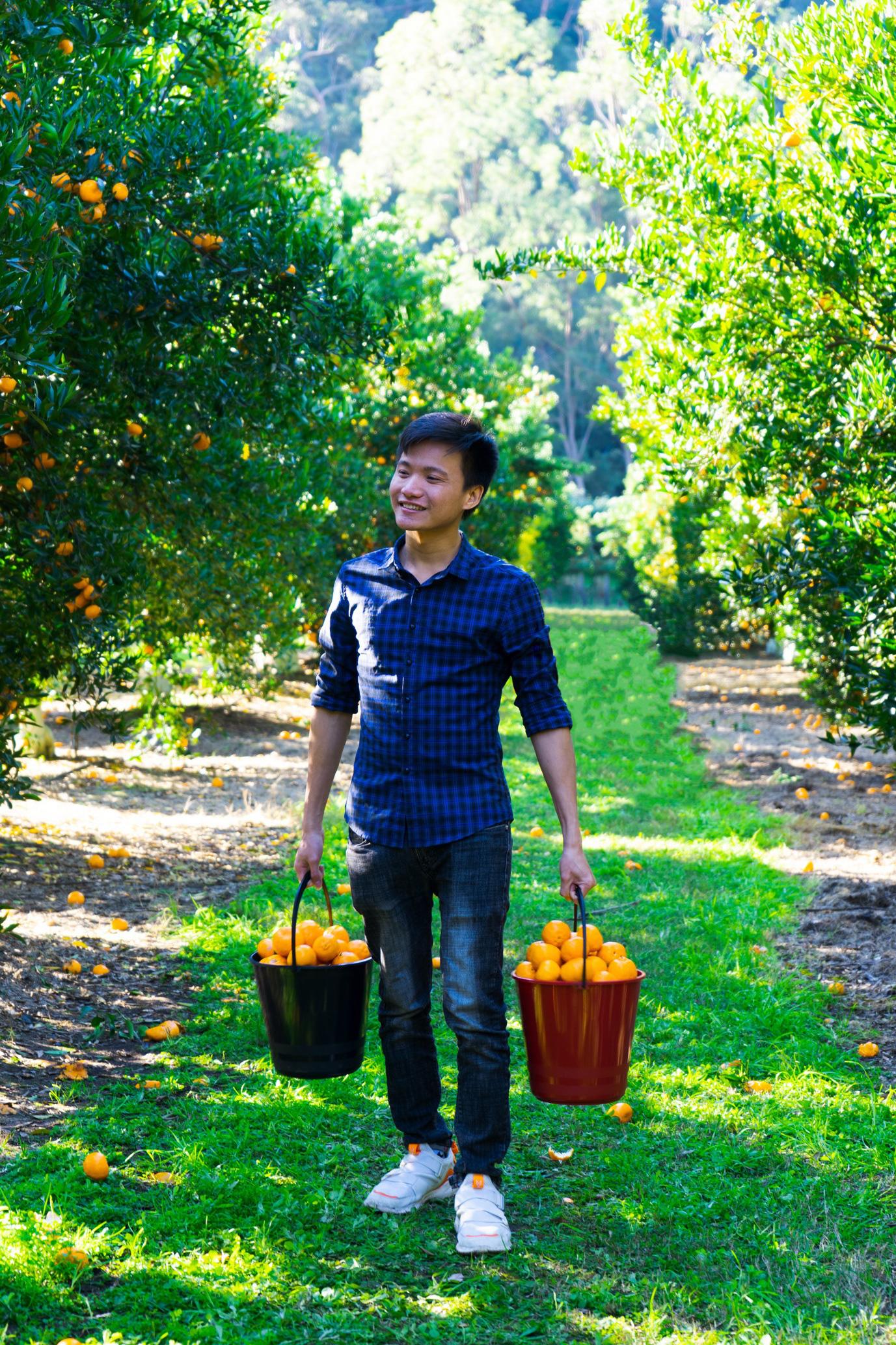 Chàng SV Bách khoa Hà Nội thổi sáo độc lạ... bằng cuống lá đu đủ có thành tích cực khủng - Ảnh 3.