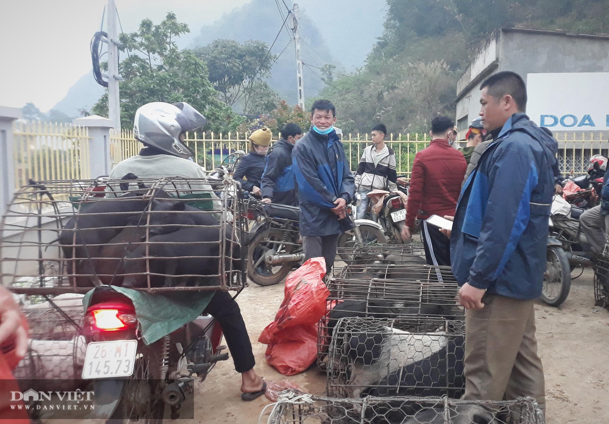 """Đi chợ phiên Muổi Nọi """"săn"""" thứ lợn đặc sản bé tý, côn trùng và rau rừng - Ảnh 2."""