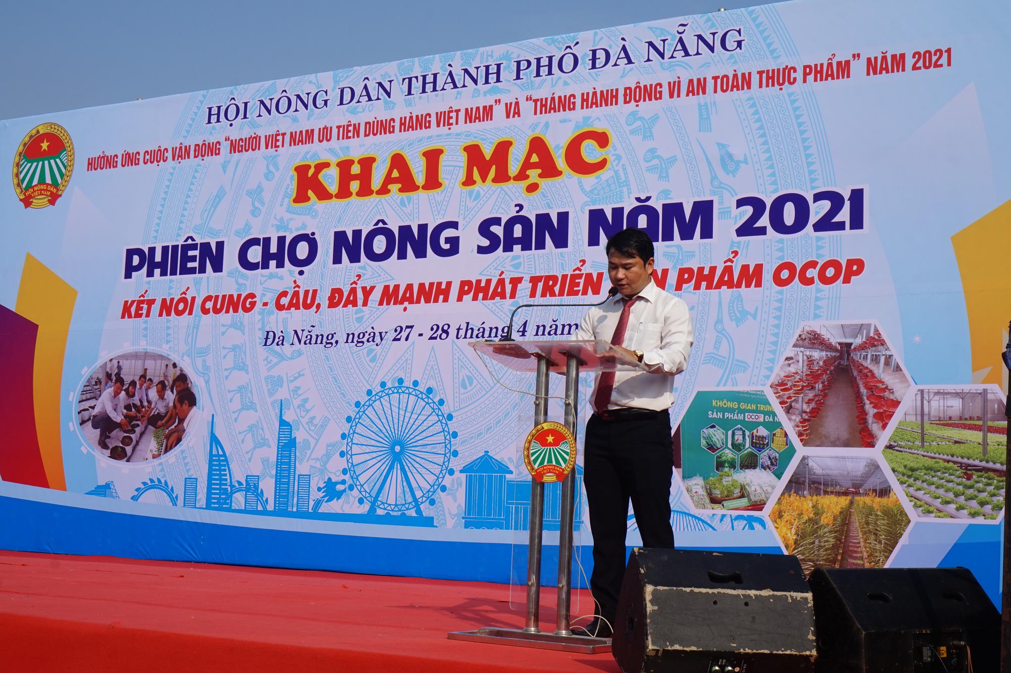 Đà Nẵng: Sản phẩm OCOP, rau sạch hút hàng tại Phiên sợ nông sản - Ảnh 5.