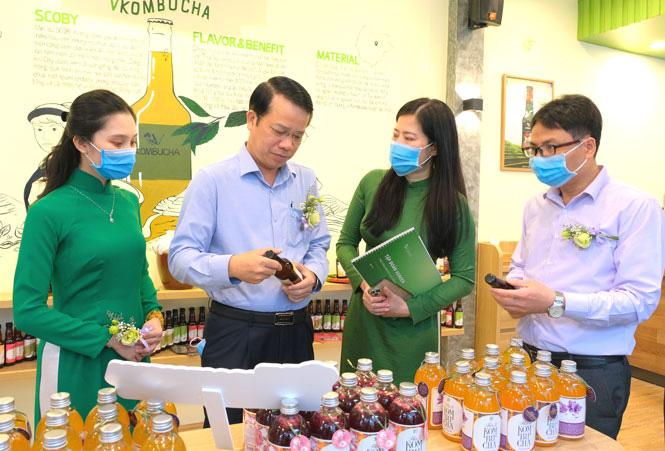 Vgreen đầu tư hơn 30 tỷ đồng xây dựng vùng nguyên liệu sản xuất trà lên men tại Thái Nguyên - Ảnh 1.