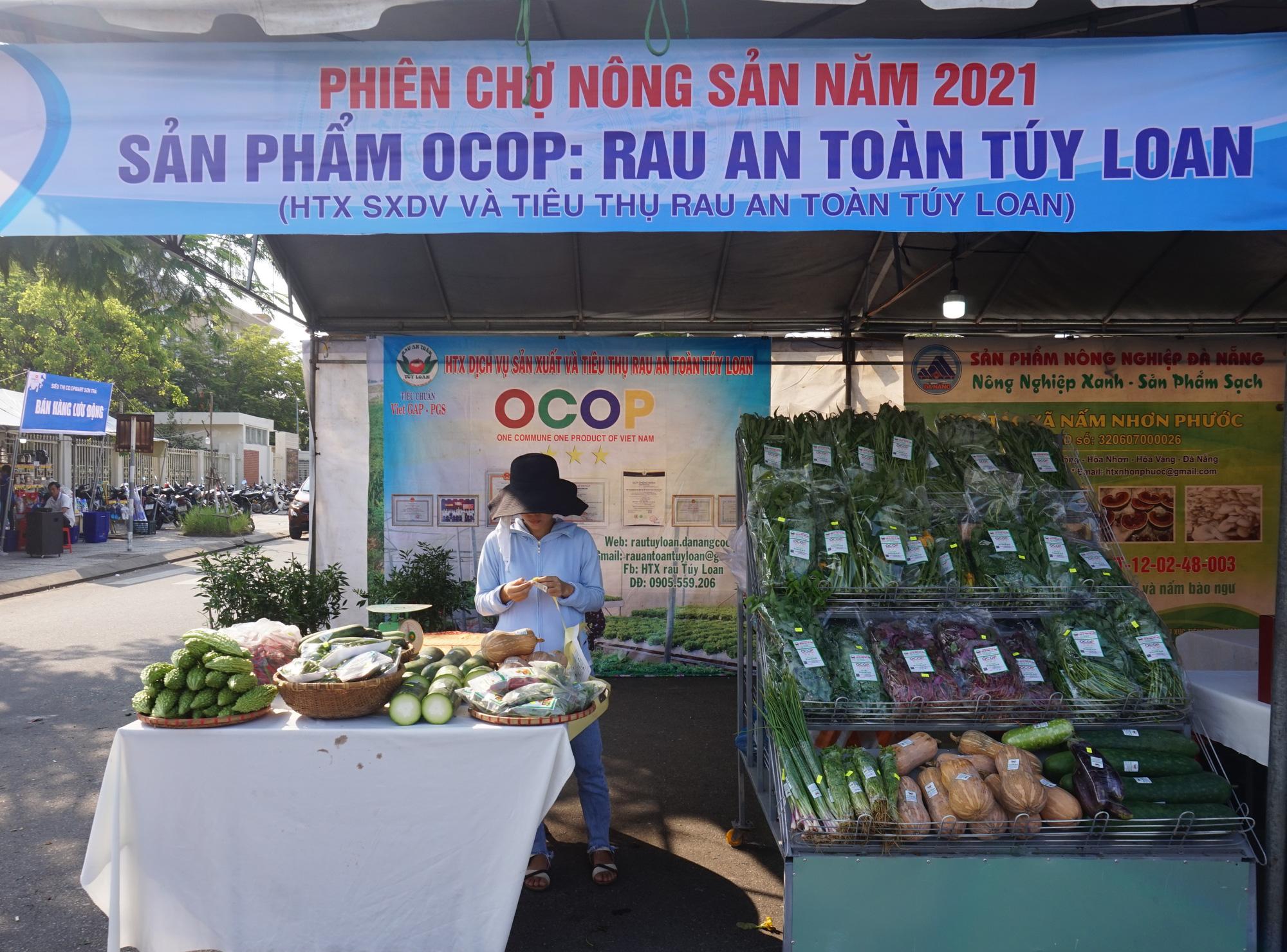 Đà Nẵng: Sản phẩm OCOP, rau sạch hút hàng tại Phiên chợ nông sản - Ảnh 9.