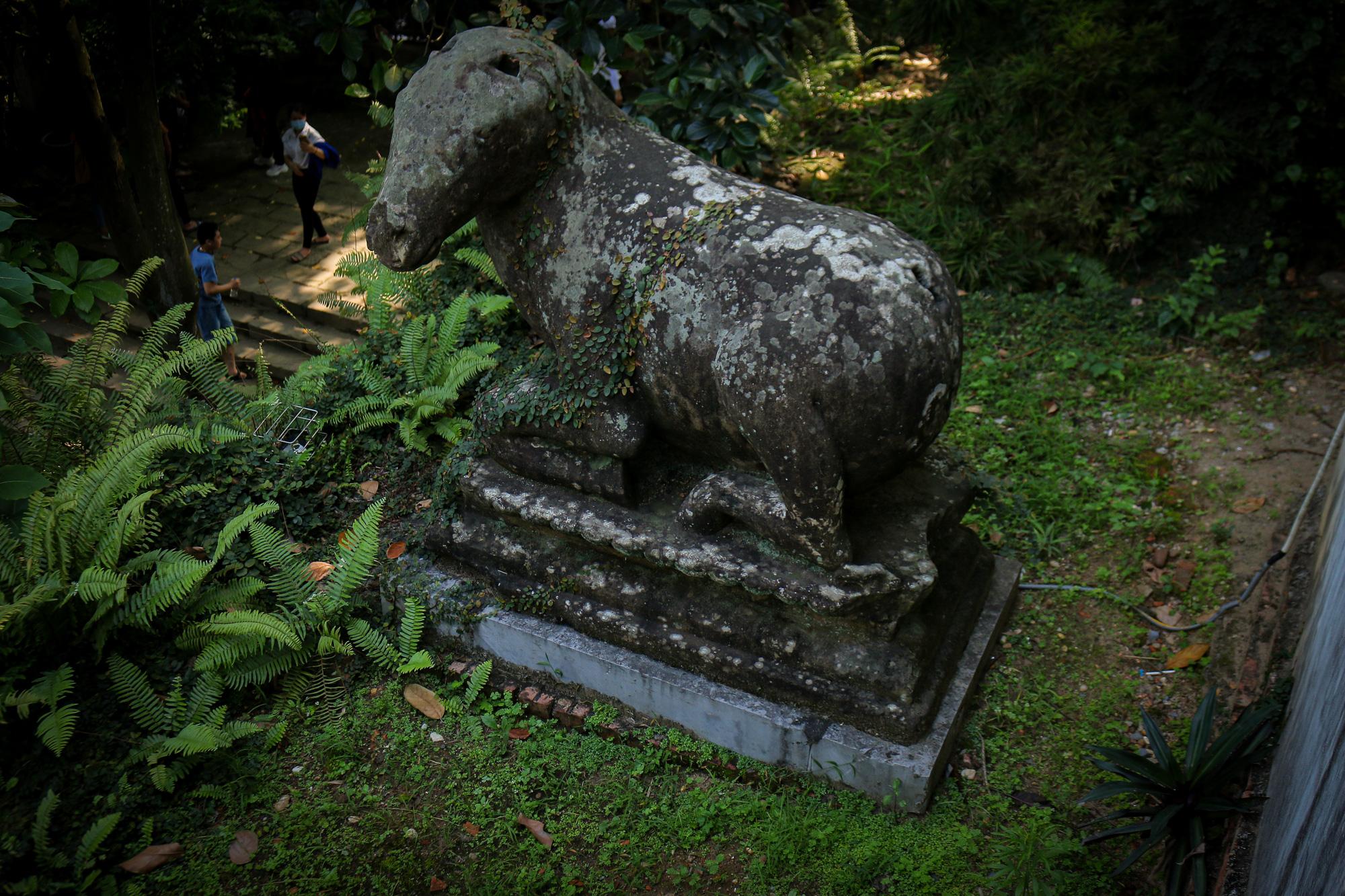 Bất ngờ ý nghĩa thực sự của bộ tượng linh thú nghìn tuổi ở chùa Phật Tích - Ảnh 12.