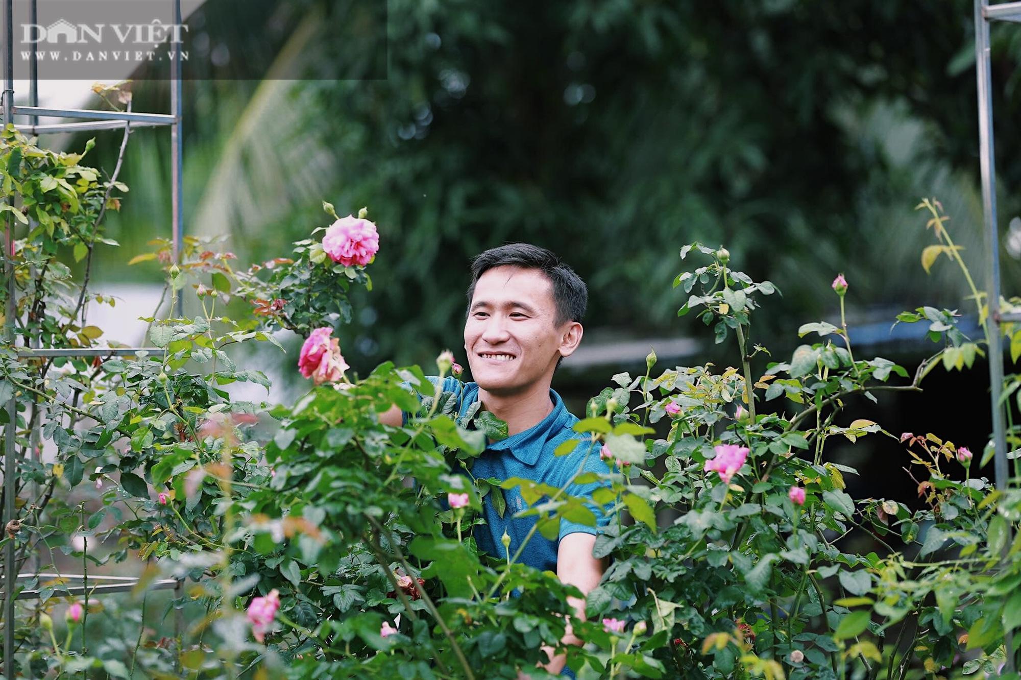 """Thái Nguyên: Trai trẻ 8X """"gác"""" bằng đại học về quê trồng thứ hoa thơm ngát cả vùng, kiếm hàng chục triệu đồng mỗi tháng - Ảnh 3."""