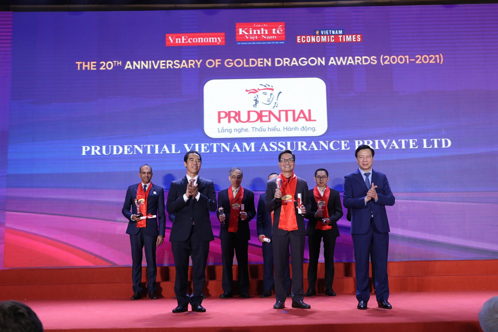 Prudential là công ty bảo hiểm duy nhất thuộc Top 10 doanh nghiệp FDI phát triển bền vững - Ảnh 1.