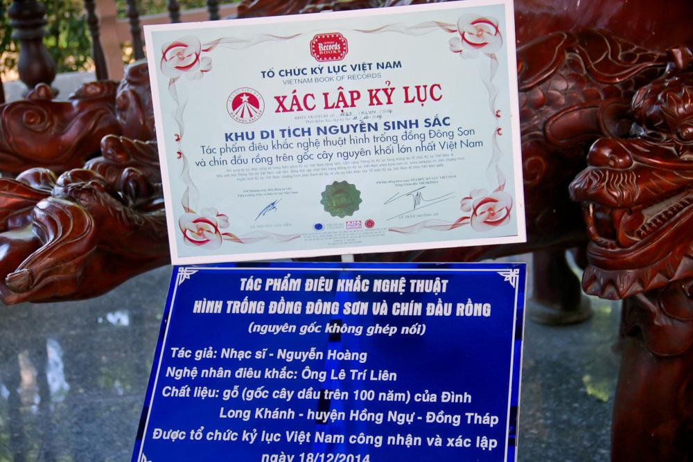 Mãn nhãn 2 tuyệt tác điêu khắc xác lập Kỷ lục Việt Nam ở Đồng Tháp có gì đặc biệt? - Ảnh 15.