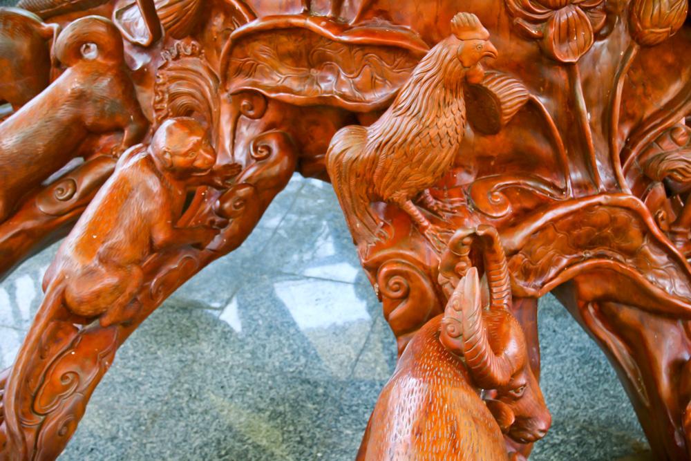 Mãn nhãn 2 tuyệt tác điêu khắc xác lập Kỷ lục Việt Nam ở Đồng Tháp có gì đặc biệt? - Ảnh 5.