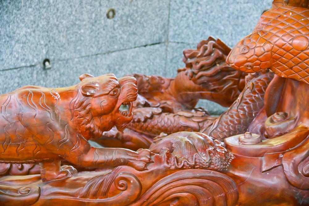 Mãn nhãn 2 tuyệt tác điêu khắc xác lập Kỷ lục Việt Nam ở Đồng Tháp có gì đặc biệt? - Ảnh 6.