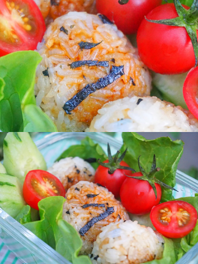 Thử làm cơm nắm rong biển sốt đậu nành kiểu Nhật vừa đẹp vừa ngon miệng - Ảnh 3.