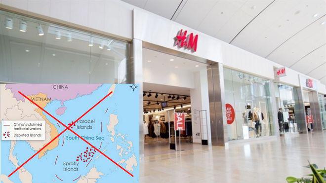 """Nghi vấn H&M đăng tải """"đường lưỡi bò"""": Có thể xử lý hình sự? - Ảnh 1."""