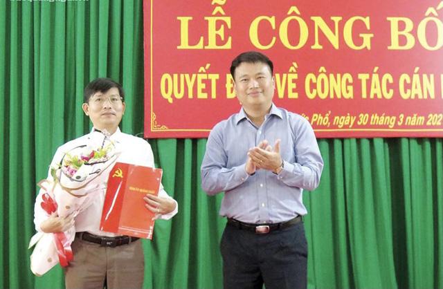 Quảng Ngãi: Nữ Phó Bí thư đầu tiên của huyện đảo, nhiều cấp ngành có lãnh đạo mới  - Ảnh 3.