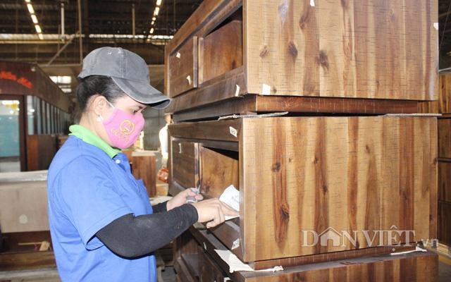 Theo Bộ Công Thương, xuất khẩu gỗ nội thất tăng mạnh từ đầu năm 2021