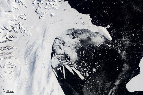 Thềm băng lớn thứ tư ở Nam Cực sẽ sớm bị sụp đổ - Ảnh 4.