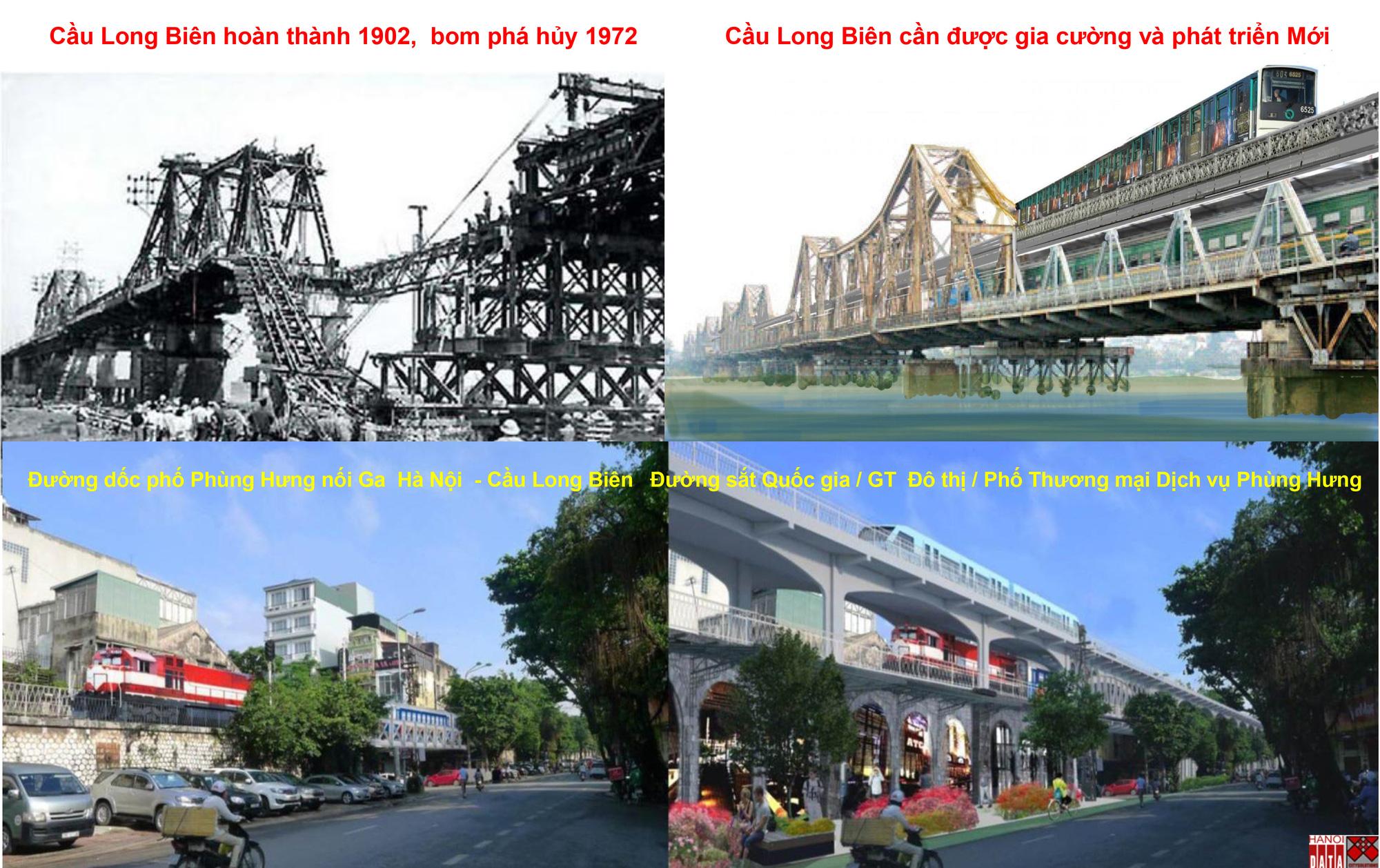 """""""Giải cứu"""" cầu Long Biên và ý tưởng làm giàu từ những cầu cầu của Hà Nội - Ảnh 16."""