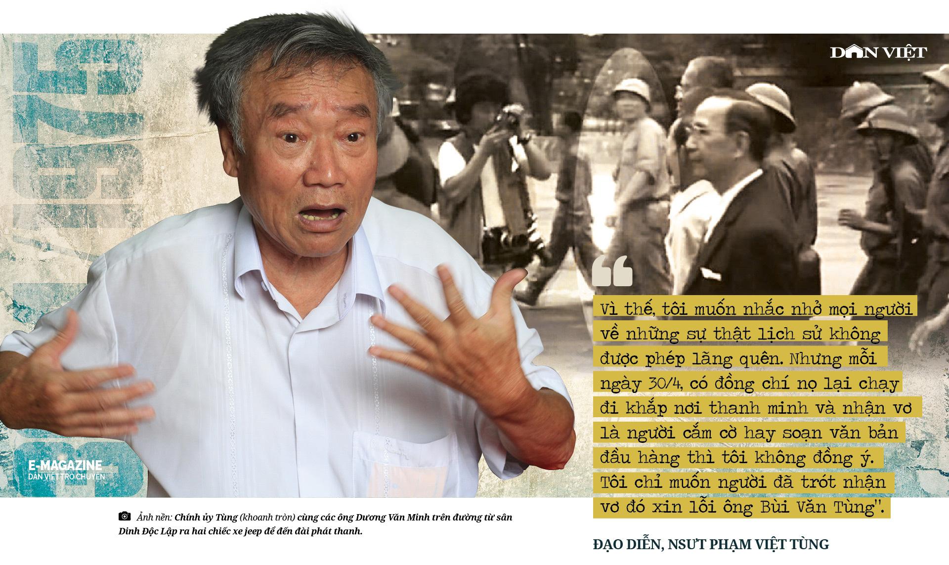 """Đạo diễn, NSƯT Phạm Việt Tùng: """"Có những sự thật 30/4/1975 cần làm sáng tỏ để không phải xấu hổ trước lịch sử""""  - Ảnh 5."""