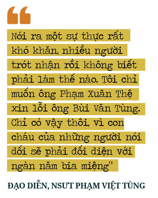 """Đạo diễn, NSƯT Phạm Việt Tùng: """"Có những sự thật 30/4/1975 cần làm sáng tỏ để không phải xấu hổ trước lịch sử""""  - Ảnh 10."""