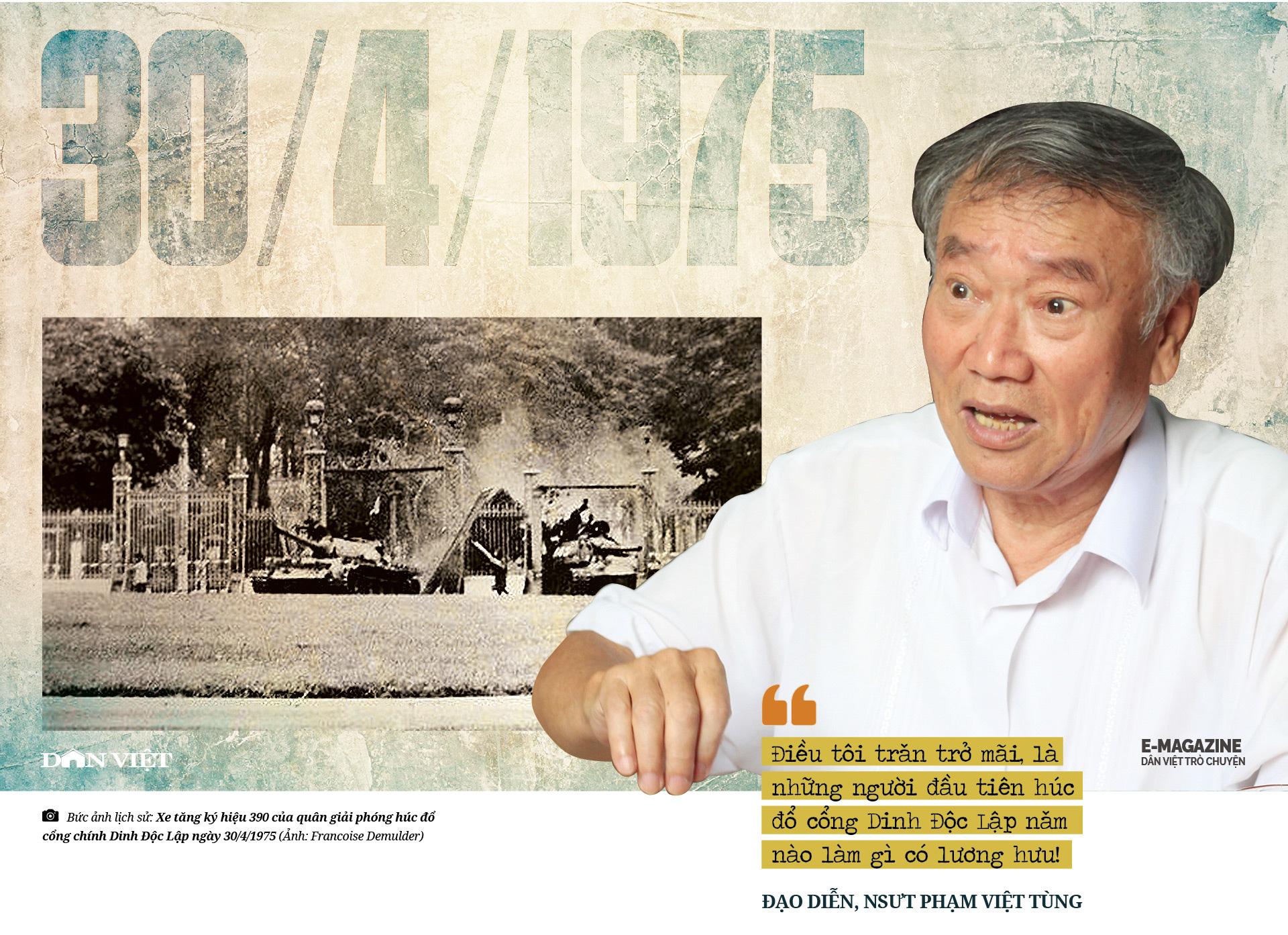 """Đạo diễn, NSƯT Phạm Việt Tùng: """"Có những sự thật 30/4/1975 cần làm sáng tỏ để không phải xấu hổ trước lịch sử""""  - Ảnh 14."""