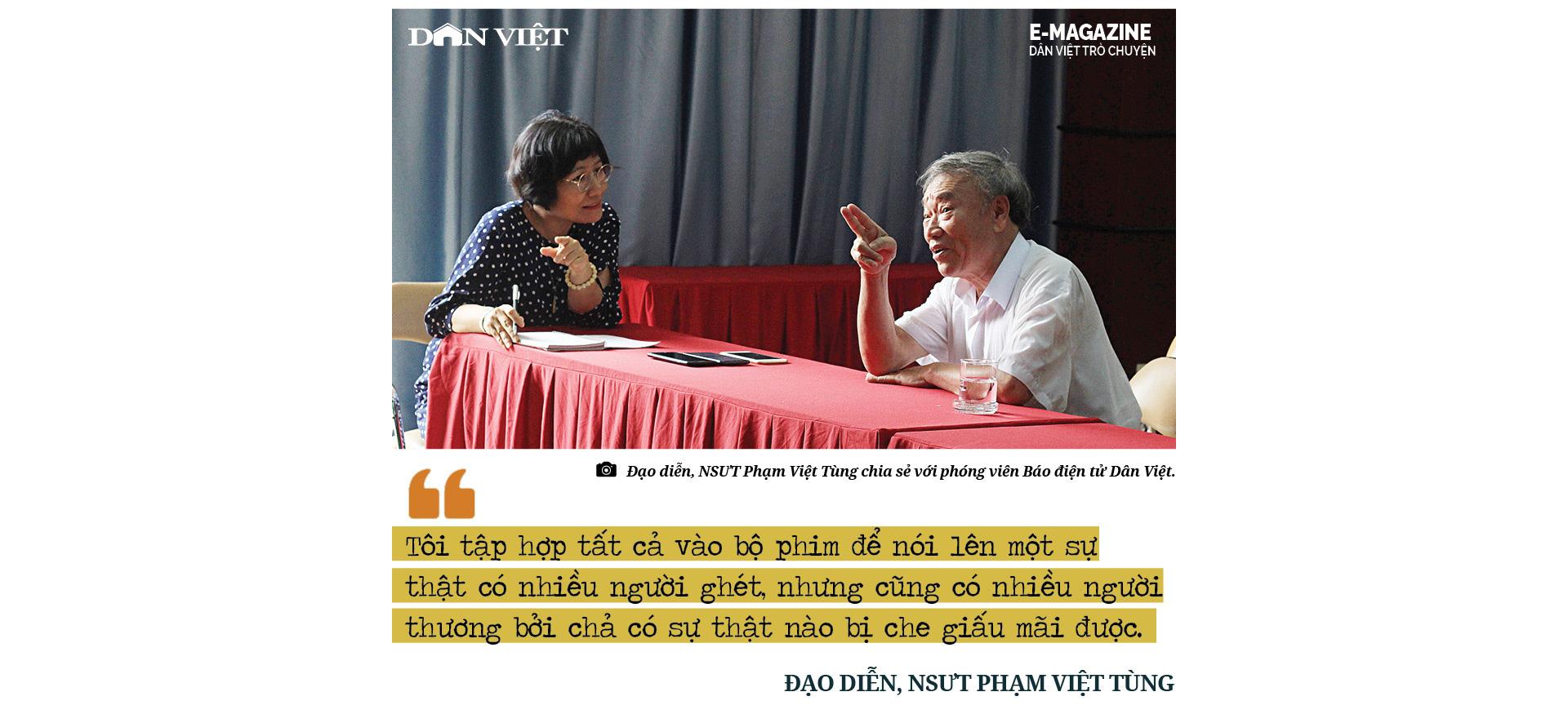 """Đạo diễn, NSƯT Phạm Việt Tùng: """"Có những sự thật 30/4/1975 cần làm sáng tỏ để không phải xấu hổ trước lịch sử""""  - Ảnh 15."""