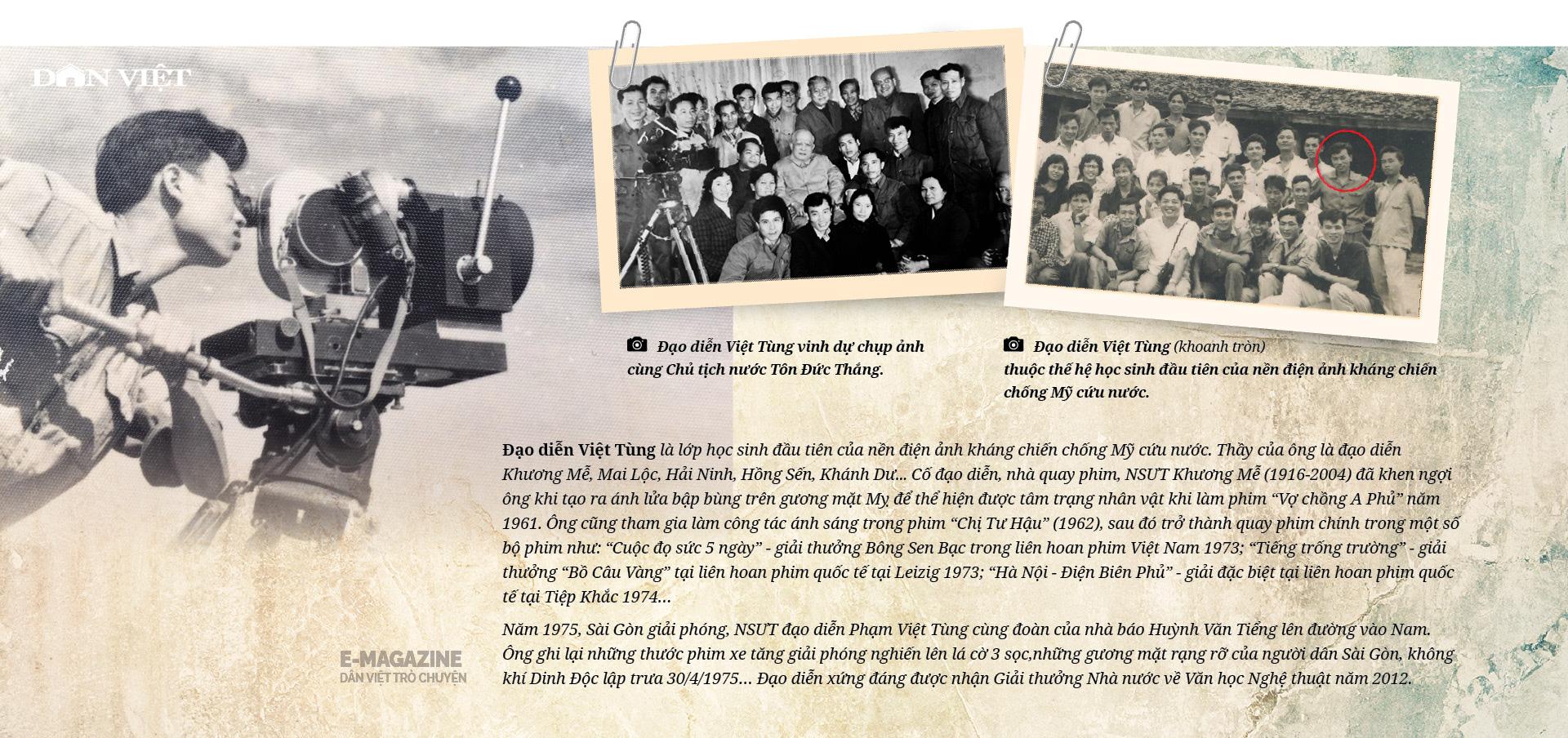 """Đạo diễn, NSƯT Phạm Việt Tùng: """"Có những sự thật 30/4/1975 cần làm sáng tỏ để không phải xấu hổ trước lịch sử""""  - Ảnh 16."""