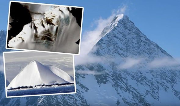 Kim tự tháp lâu đời nhất trên Trái đất nằm ẩn trong lục địa băng giá - Ảnh 1.