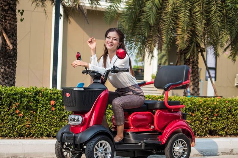Xe điện Thái Lan dành cho người... không biết đi xe máy - Ảnh 4.