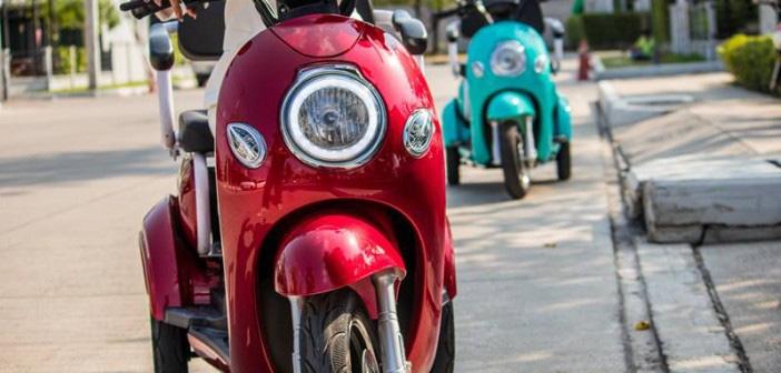 Xe điện Thái Lan dành cho người... không biết đi xe máy - Ảnh 1.
