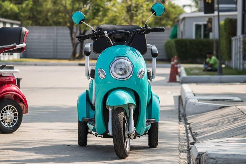 Xe điện Thái Lan dành cho người... không biết đi xe máy - Ảnh 2.