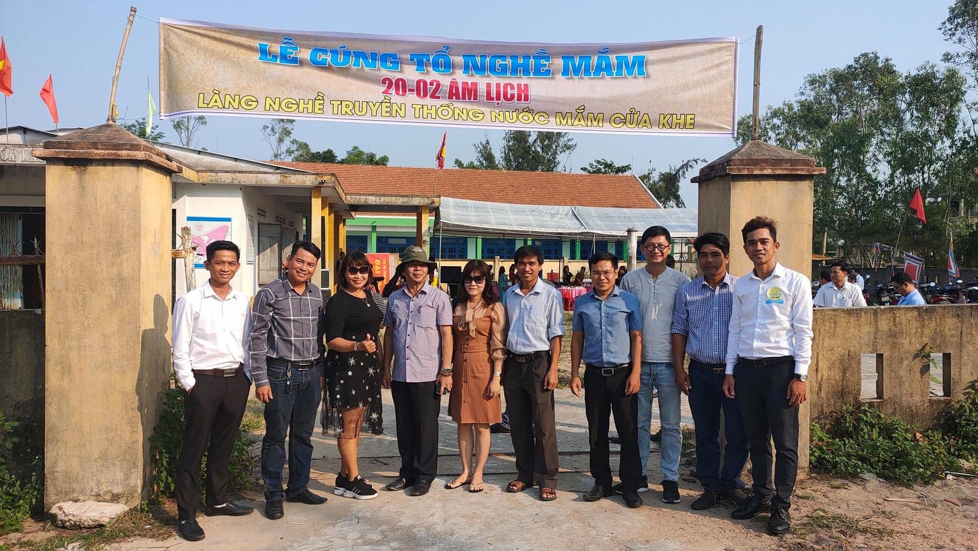 Quảng Nam: Làng Cửa Khe tổ chức lễ cúng tổ nghề mắm - Ảnh 3.