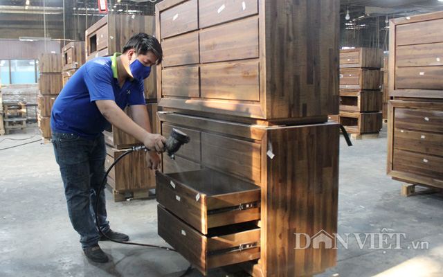 Theo Cục Xuất nhập khẩu, 3 tháng đầu năm, xuất khẩu sản phẩm gỗ tăng hơn 54% so với cùng kỳ