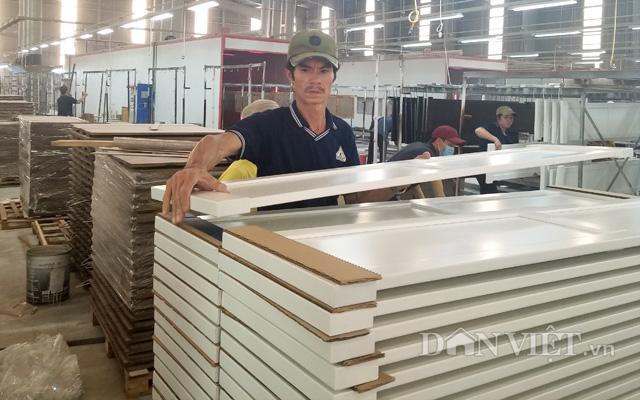 Công ty CP gỗ Dầu Tiếng (huyện Dầu Tiếng, Bình Dương) có đơn hàng xuất khẩu đến hết tháng 6 năm nay
