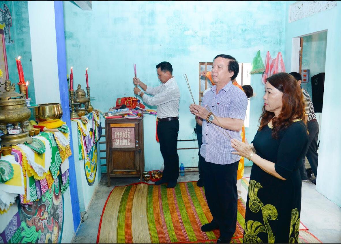 Quảng Nam: Làng Cửa Khe tổ chức lễ cúng tổ nghề mắm - Ảnh 2.