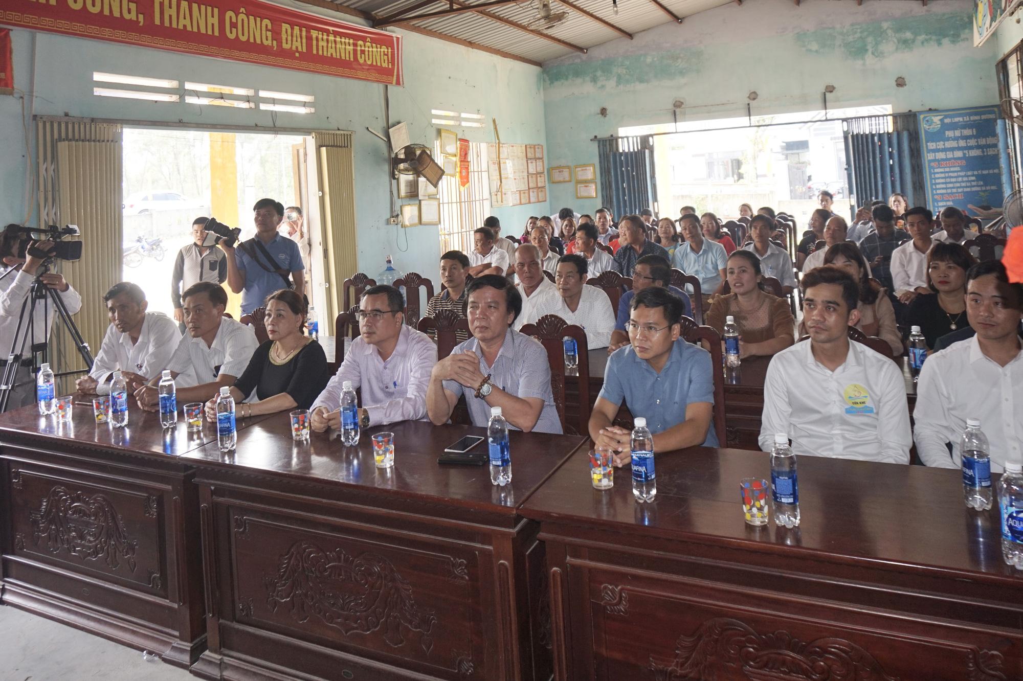 Quảng Nam: Làng Cửa Khe tổ chức lễ cúng tổ nghề mắm - Ảnh 5.