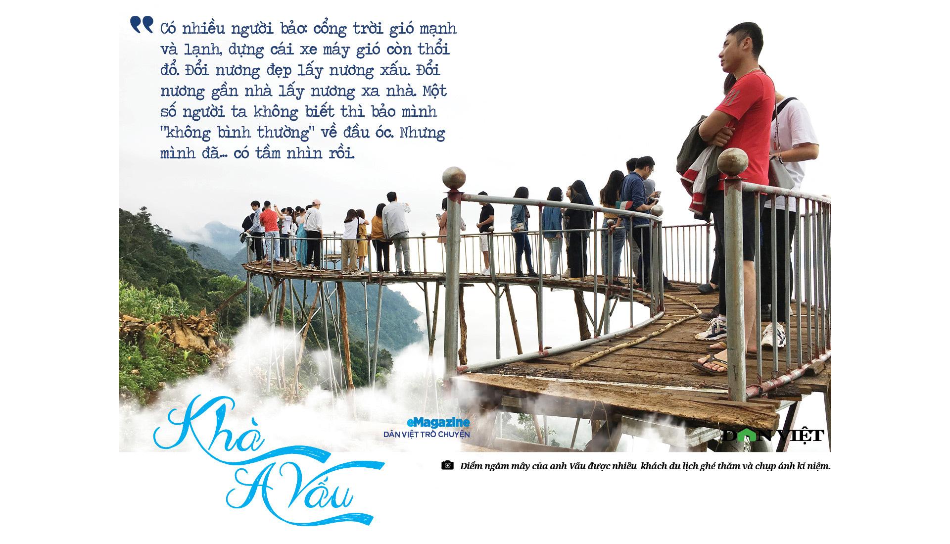 """Dân Việt trò chuyện:Khà A Vấu - vinh danh """"Thiên đường mây"""" trên """"Miền đất lửa"""" - Ảnh 2."""