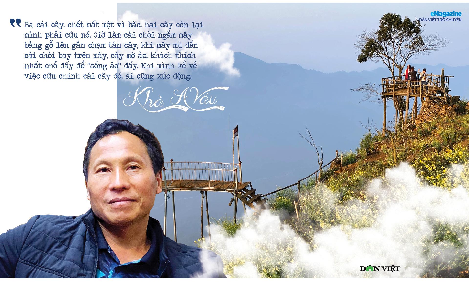 """Dân Việt trò chuyện:Khà A Vấu - vinh danh """"Thiên đường mây"""" trên """"Miền đất lửa"""" - Ảnh 4."""