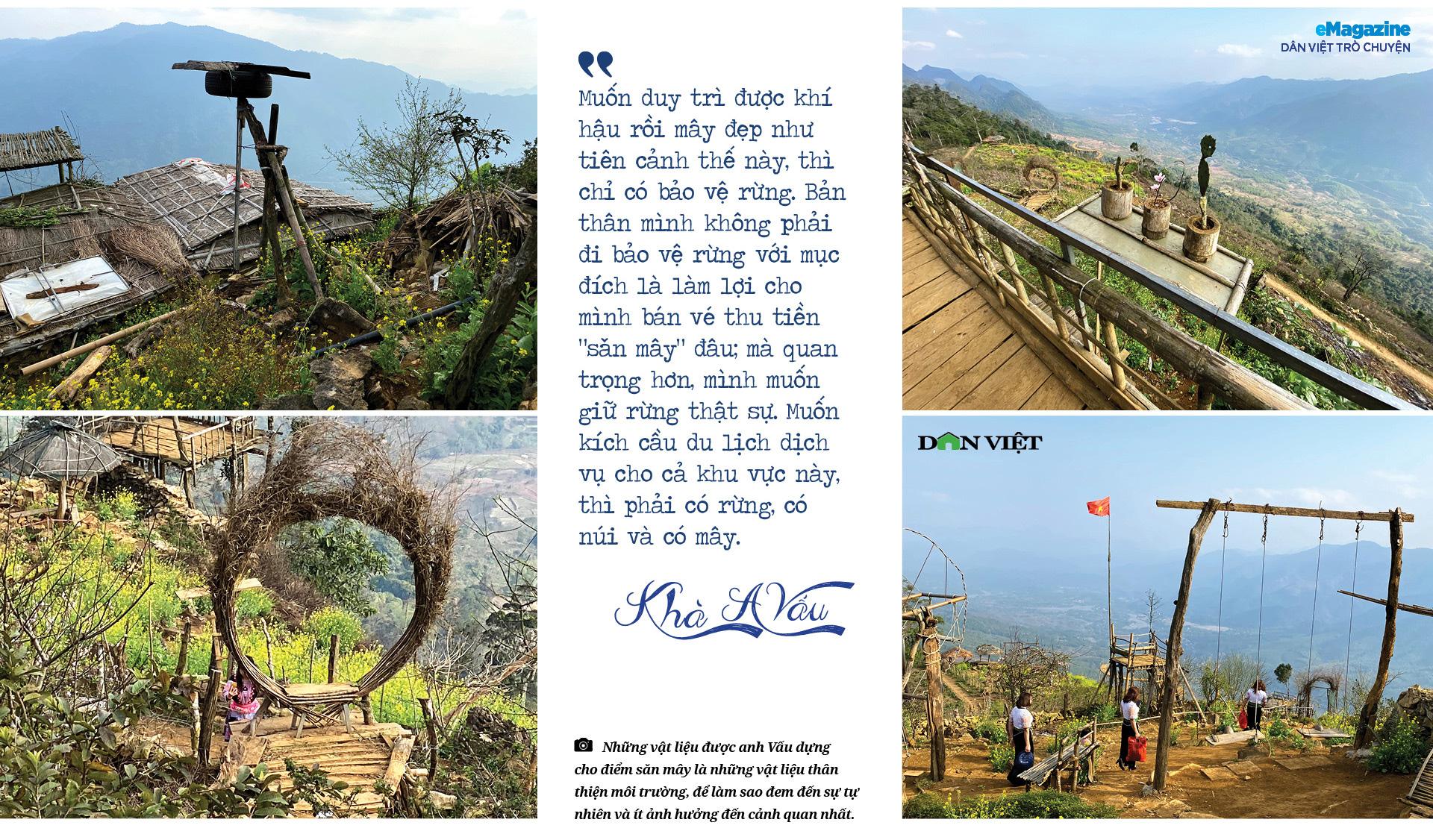 """Dân Việt trò chuyện:Khà A Vấu - vinh danh """"Thiên đường mây"""" trên """"Miền đất lửa"""" - Ảnh 13."""