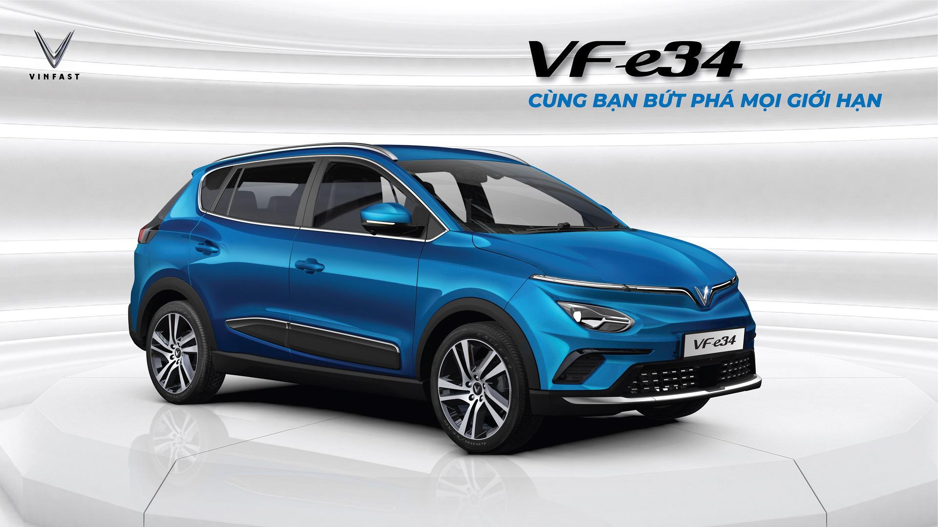 VinFast VF e34 - cuộc cách mạng trên thị trường ô tô Việt Nam - Ảnh 1.