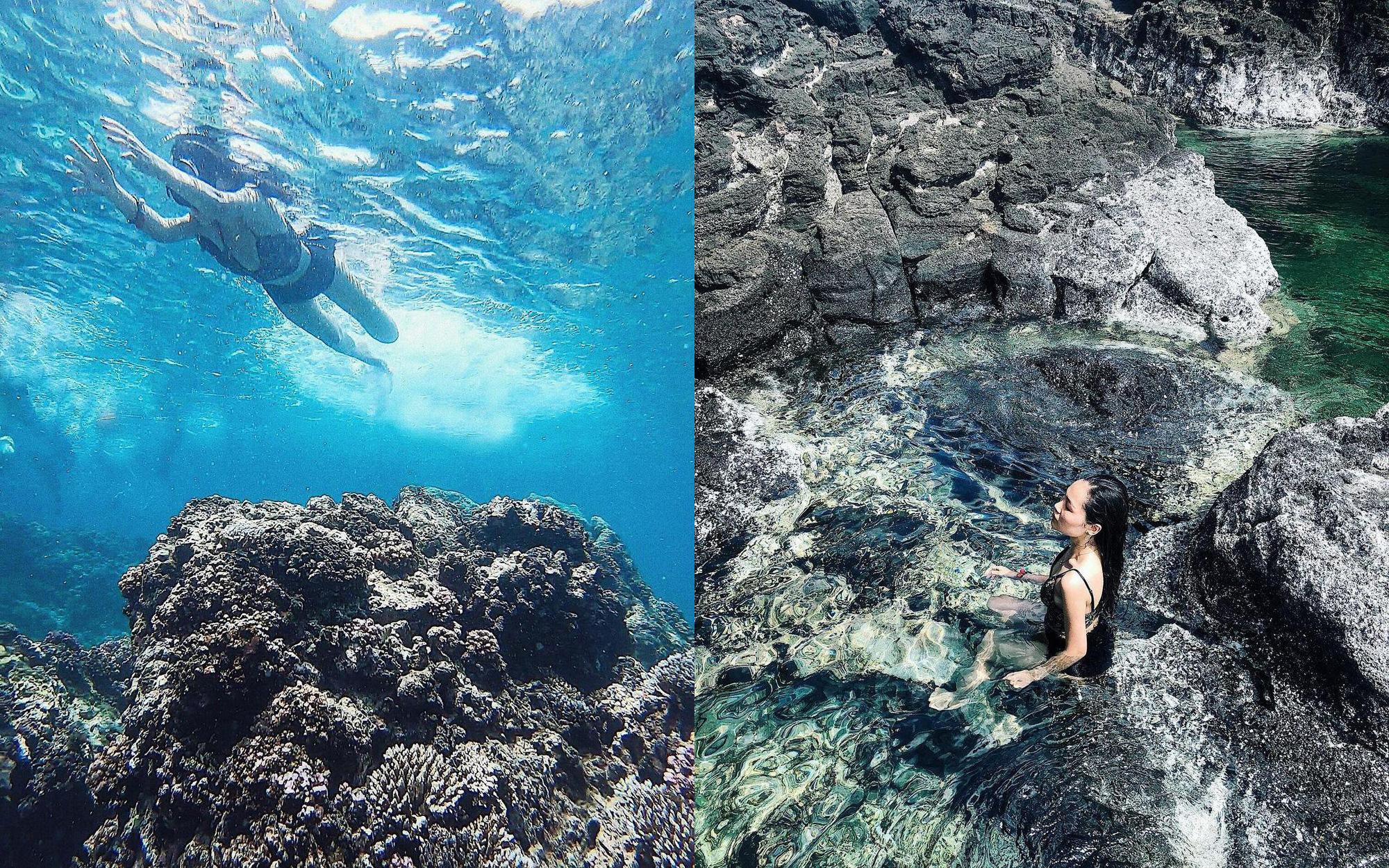 Bình Thuận: Hồ bơi tự nhiên nổi trên biển đẹp như trời Âu  - Ảnh 5.