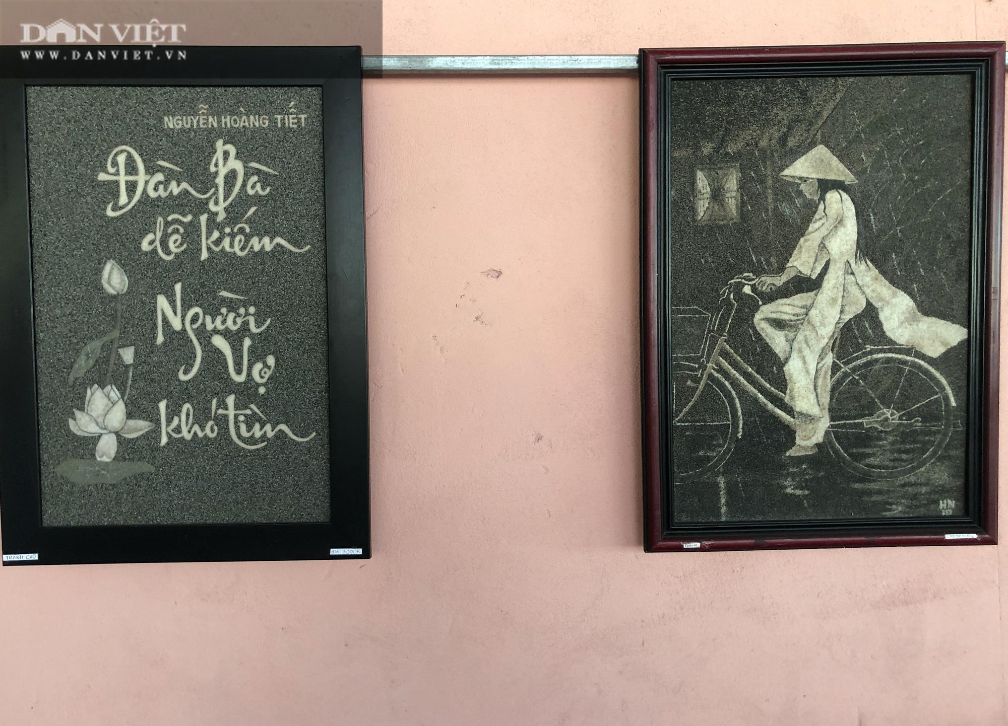 An Giang: Những bức tranh đá độc nhất vô nhị của thầy giáo dạy nhạc - Ảnh 12.