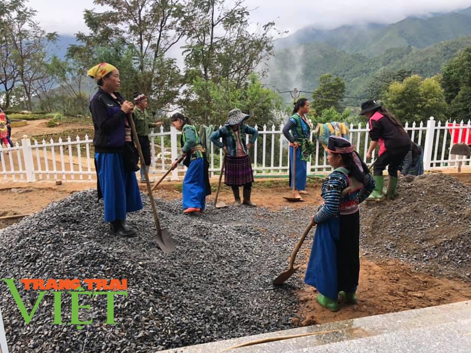 Người dân Vân Hồ: Góp sức cùng chính quyền xây dựng nông thôn mới - Ảnh 1.
