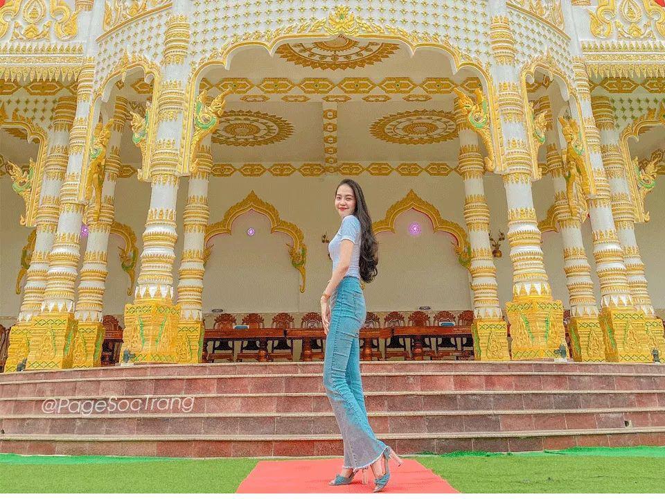 """Độc đáo ngôi chùa """"Thái Lan"""" đang sốt rần rần ở tỉnh Sóc Trăng - Ảnh 12."""