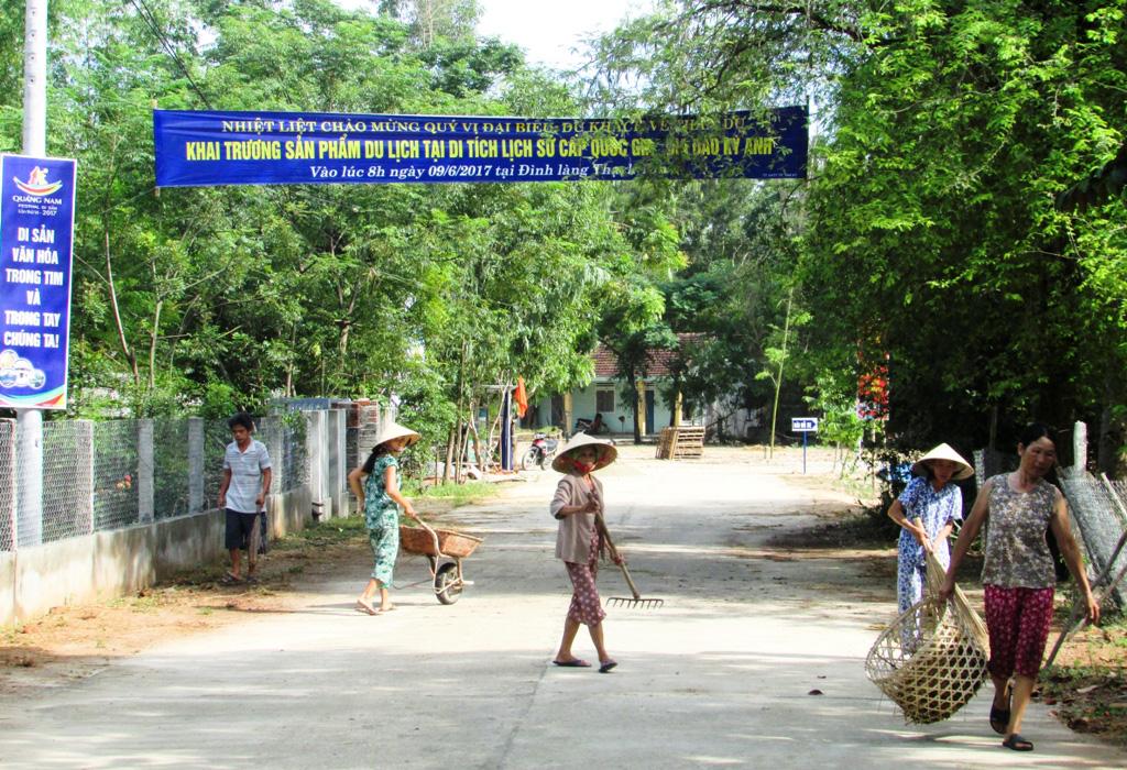 Quảng Nam: Thành phố Tam Kỳ đạt chuẩn Nông thôn mới, dân vùng nông thôn có thu nhập gần 54 triệu đồng/năm - Ảnh 5.