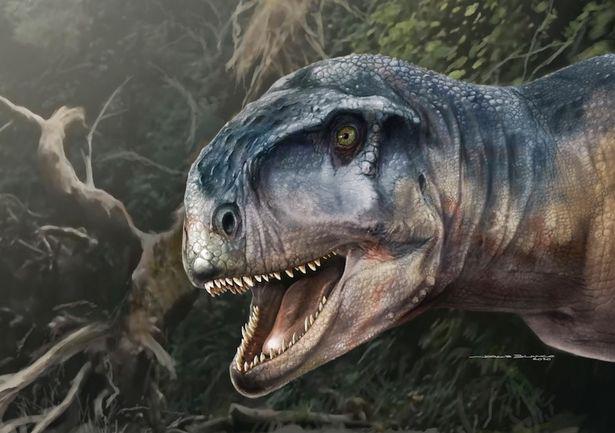 """Loài khủng long đặc biệt mới phát hiện được mệnh danh là """"Kẻ gieo rắc nỗi sợ hãi"""" - Ảnh 1."""