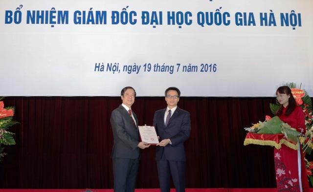 Nhìn lại thành tựu Bộ trưởng Bộ GD-ĐT Nguyễn Kim Sơn làm được tại Đại học Quốc gia Hà Nội - Ảnh 1.